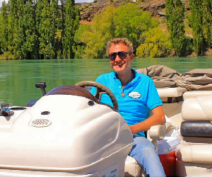 Laurence van der Eb Clutha River Cruises